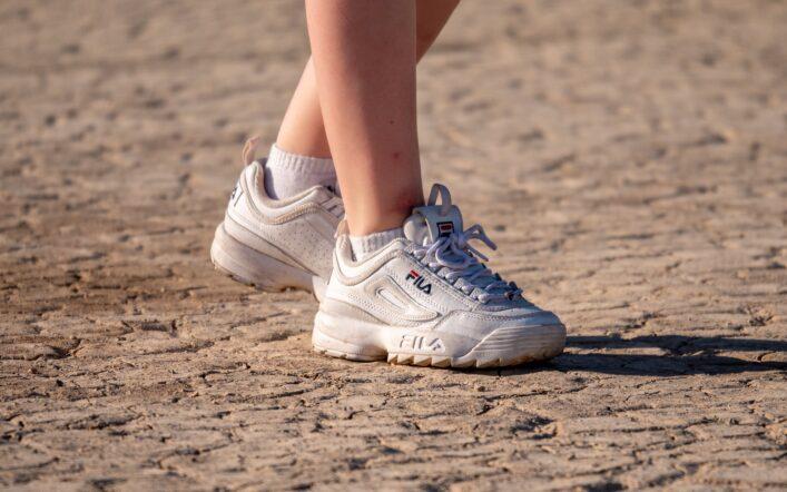 Białe buty zawsze na topie!